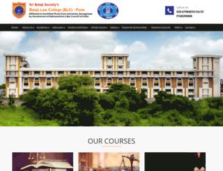 balajilaw.com screenshot