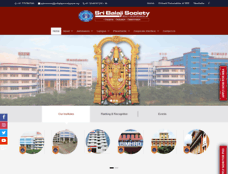 balajisociety.org screenshot