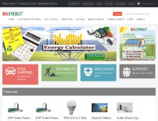 balajisolarsystems.com screenshot