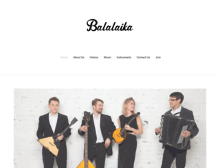 balalaika.biz screenshot