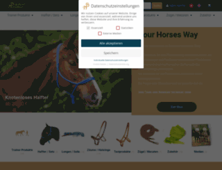 balanced-horseman-shop.de screenshot