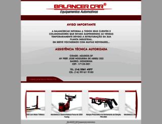 balancercar.com.br screenshot