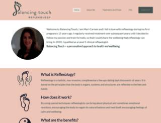 balancing-touch.com screenshot