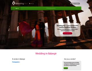 balangir.wedding.net screenshot
