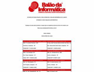 balaodainformatica.com.br screenshot
