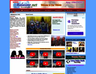 balasore.net screenshot