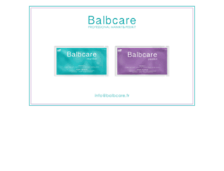 balbcare.fr screenshot