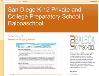 balboacityschool.blogspot.com screenshot