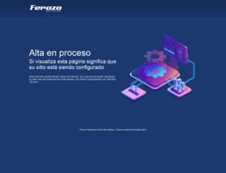 balcarce.ferozo.com screenshot