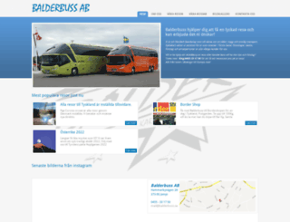 balderbuss.se screenshot