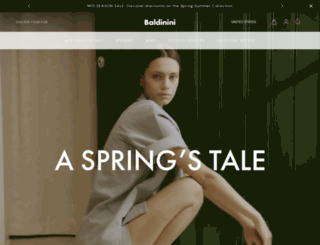 baldinini-shop.com screenshot