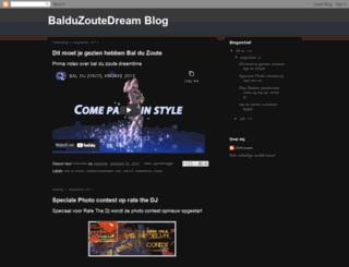 balduzoutedream.blogspot.be screenshot