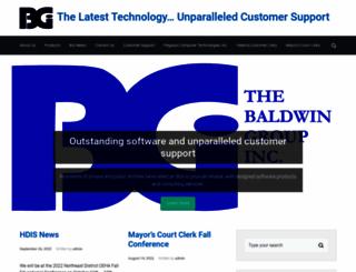 baldwingroup.com screenshot