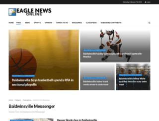 baldwinsvillemessenger.com screenshot