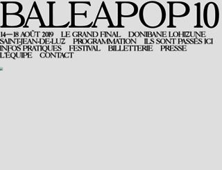 baleapop.com screenshot