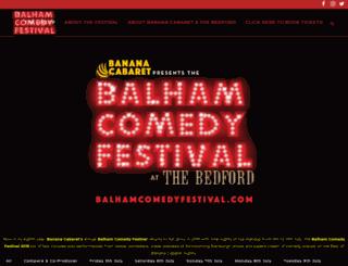 balhamcomedyfestival.com screenshot