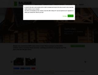 balhaus.pl screenshot