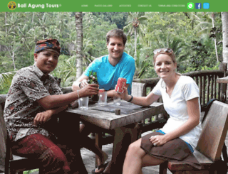 bali-agung-tours.com screenshot