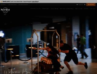 bali.hardrockhotels.net screenshot