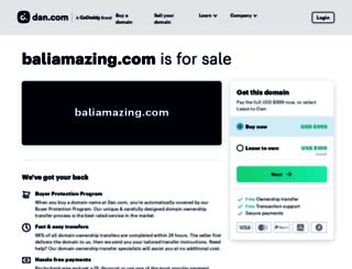 baliamazing.com screenshot