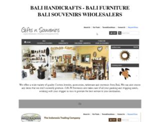 balihandmadeproducts.com screenshot