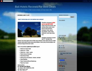 balihotelreviews.blogspot.com screenshot