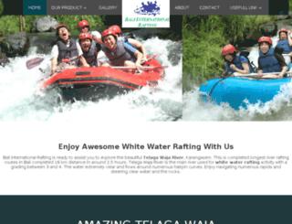 baliinternationalrafting.com screenshot