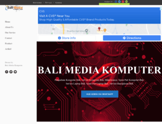 balimediakomputer.com screenshot