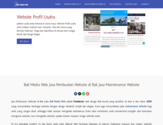 balimediaweb.com screenshot