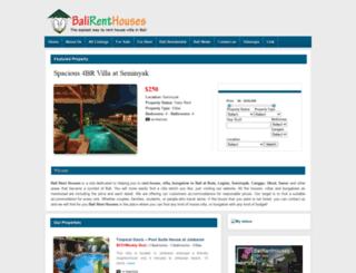 balirenthouses.com screenshot