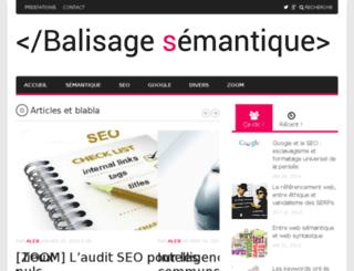balisage-semantique.fr screenshot