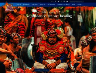 balispiritfestival.com screenshot