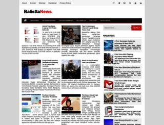 balistta.blogspot.com screenshot