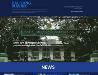 balitangmarino.com screenshot