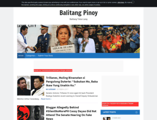 balitangpinoy.altervista.org screenshot
