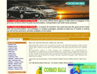 balitransportationservice.com screenshot