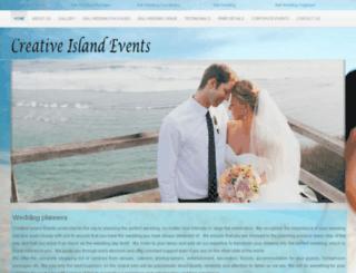 baliweddingevent.com screenshot