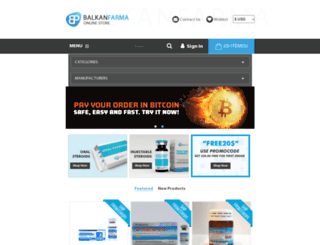 balkanfarma.com screenshot