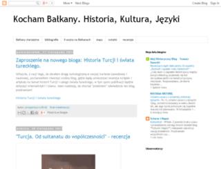 balkanskiedzieje.blogspot.com screenshot
