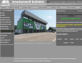 ballabio.it screenshot