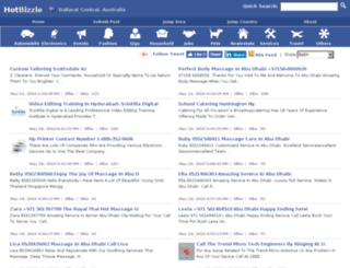 ballaratcentral.hotbizzle.com screenshot