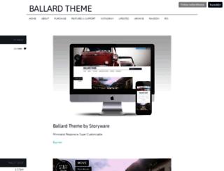 ballard.storyware.us screenshot