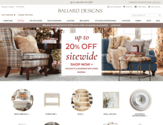 ballarddesigns.com screenshot