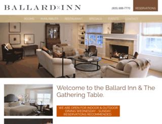 ballardinn.com screenshot