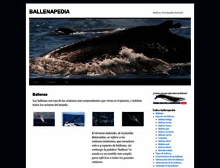 ballenapedia.com screenshot