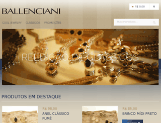 ballenciani.com screenshot