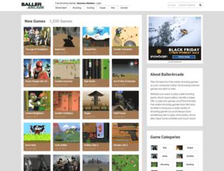 ballerarcade.com screenshot