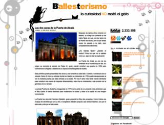 ballesterismo.com screenshot