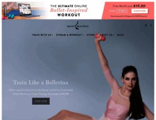 balletbeautiful.com screenshot