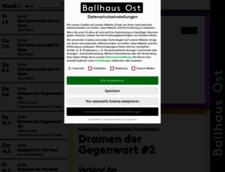 ballhausost.de screenshot